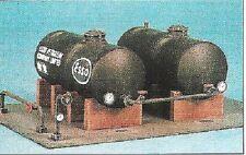 Ratio 530. Two Oil Tanks - Plastic Kit. (OO)
