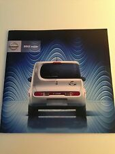 2012 Nissan Cube 30-page Original Sales Brochure