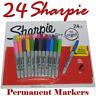 24 + 1  Sharpie Coloured Fine Point Waterproof Permanent Marker Pens Colour