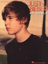 Justin Bieber My World Learn to Play Pop PIANO Guitar PVG Music Book