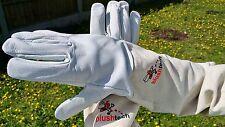 Beekeeper Gloves Beekeeping Bee gloves 100% Leather & Cotton Zean gloves- XL