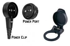 3 Piece Magcode Set 12 Volt DC Power Magnetic Connector POWER CLIP, PORT & COVER