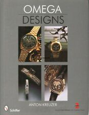 Omega Designs - a Watch Reference & History by Anton Kreuzer, New! $0 Shipping!