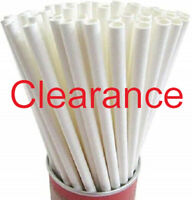 Paper Straws Eco-Friendly Drinking Party Supplier FDA Approved 6mm  250pcs