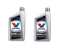 VALVOLINE SYNPOWER 4T 10W 50 OLIO MOTORE MOTO 100% SINTETICO 2lt KTM