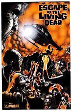 ESCAPE OF THE LIVING DEAD 5 Platinum Foil Edition with COA 2006 Avatar Press NM