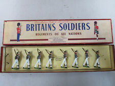 Britains 299 : West Point Cadets (summer uniform) bel état en boite originale.