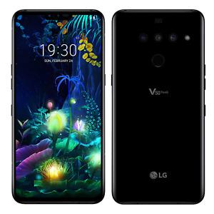 """LG V50 ThinQ 5G 128GB LM-V450PM GSM Unlocked 6.4"""" 6GB RAM Triple Camera Phone"""