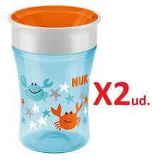 Lot de 2 Nuby sipeez 360 Degré Wonder Maxi bonnets assortis bébé Gobelet