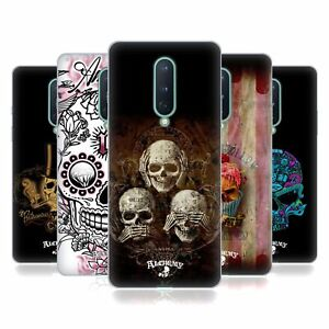 OFFICIAL ALCHEMY GOTHIC SKULL SOFT GEL CASE FOR AMAZON ASUS ONEPLUS