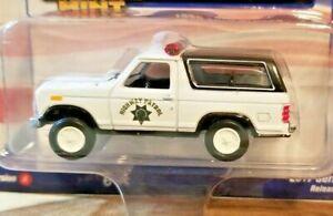 Racing Champions Mint 1980 Ford Bronco CHP 1:64 Diecast Truck VerA R1 #1