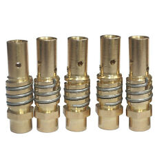 5 PCS MB-15AK MIG/MAG Welding Torch Contact Tip Holder