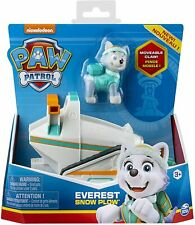 La Pat' Patrouille Véhicule et Figurine Everest  Voiture Paw Patrol Chasse neige