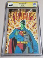 Original Sketch By Nick Justus on Batman/Superman blank CGC 9.2