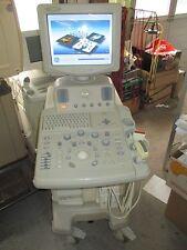 GE LOGIQ 3 ultrasuoni dispositivo farbdoppler M. 2 sonde e Printer LINEARE + Convex