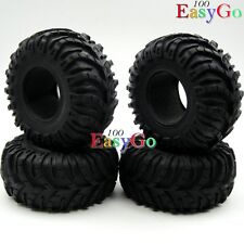 "4pcs New RC 1/10 Crawler Soft 2.2"" Tires Tyres w/ Foam for RC4WD Axial Upgrade"