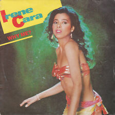 45 TOURS - IRENE CARA - Why Me - Talk Too Much