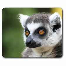 Computer Mouse Mat - Lemur Monkey Head Wildlife Office Gift #15821