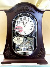 "NEW RHYTHM MANTEL CLOCK: ""LINDA""  CRH264UR06 FEATURING CASSETTES WITH MELODIES"