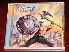 Riot V: Armor Of Light CD 2018 Nuclear Blast Records USA NB 4365-2 Original NEW