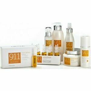 BRAND NEW BIOTOP Professional 911 Quinoa Shampoo, Serum YOU CHOOSE