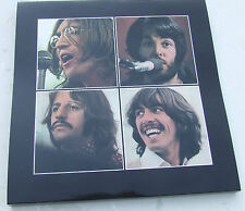LAMINATED OUTER COVER for BEATLES LET IT BE BOX SET EXC condition+Apple Poster