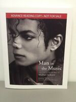 Man In The Music by J Vogel The Creative Life & Work of Michael Jackson ARC PB