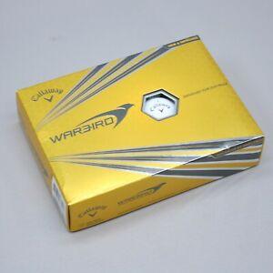 1 Dozen (12) Callaway Warbird White Golf Balls War-Bird NEW