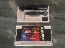Shure SM58-T2 / T4V VHF Wireless Microphone System Handheld Full Diversity CV