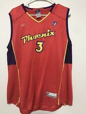 Diana Taurasi Phoenix Mercury WNBA Reebok Jersey Adult Size Large Authentic Red