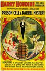 Houdini Death Defying Escape Artist Vintage 11 x 17 High Quality Poster