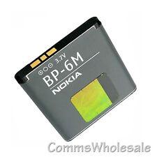 Genuine Nokia BP-6M 1100mAh Battery N93 N73 6233 6280 6282 6288 6270