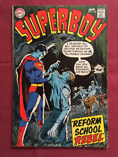 SUPERBOY 163 VG+ (DC Comics 1970) Neal Adams cover