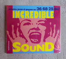 "CD AUDIO INT/ VARIOUS- INCREDIBLE SOUND"" MAXI CD PROMO NEUF SOUS BLISTER MERCURY"