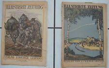 2 Illustrierte Zeitungen Verlag J.J.Weber Leibzig Nr.3952 u.3965