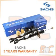 GENUINE SACHS HD FRONT SHOCKS ABSORBERS & DUSTS COVER SET AUDI A4 B5 A6 C5