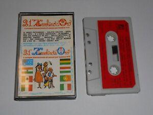 RARA MUSICASSETTA 21° ZECCHINO D'ORO 1978