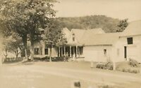 PLYMOUTH VT – President Coolidge Home Real Photo Postcard rppc