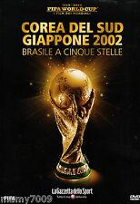 FIFA WORLD CUP=I FILM DEI MONDIALI=2002 COREA DEL SUD/GIAPPONE=BRASILE A 5 STELL