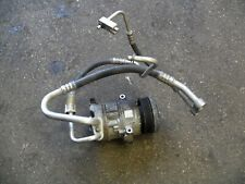 VAUXHALL CORSA D AIR CONDITIONING PUMP AND PIPES