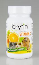 Brytin C - Stabilized Vitamin C Supplement Pet Guinea Pig Rabbit Chinchilla 90ct