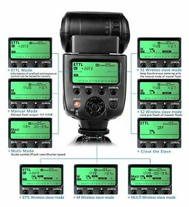 CameraPlus Speedlite  E-TTL Flash, fully automated flash, for Canon cameras