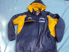 G-III Chargers Hooded Jacket Full-Zip Adult Size XXL NWOT + Fitted Cap NWT!