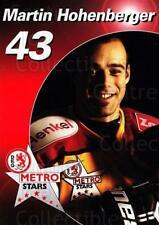 2003-04 German DEG Metro Stars Postcards #4 Martin Hohenberger