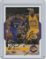 #24 Kobe Bryant Autograph Card w/ *COA* Hand Signed Los Angeles Lakers