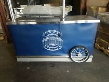 Used Ice Cream Freezer Chest Showcase Commercial