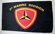 3rd Marine Division Usmc Flag 3' x 5' Indoor Outdoor Military Banner