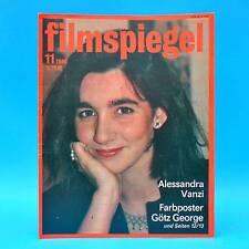 DDR Filmspiegel 11/1986 Götz George Victor Lanoux Ruth Leuwerik Marie Gruber A