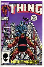 Thing 19 Marvel 1985 NM Fantastic Four Castle Death Horses Carriage John Byrne