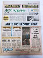 CORRIERE DELLO SPORT 14-9-1978 JUVENTUS GLASGOW RANGERS 1-0 FLORIANA-INTER 1-3